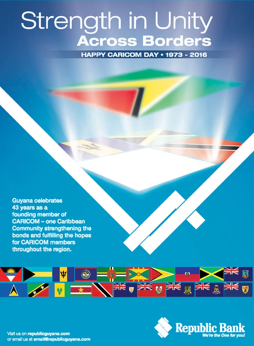 Happy Caricom Day Republic Bank