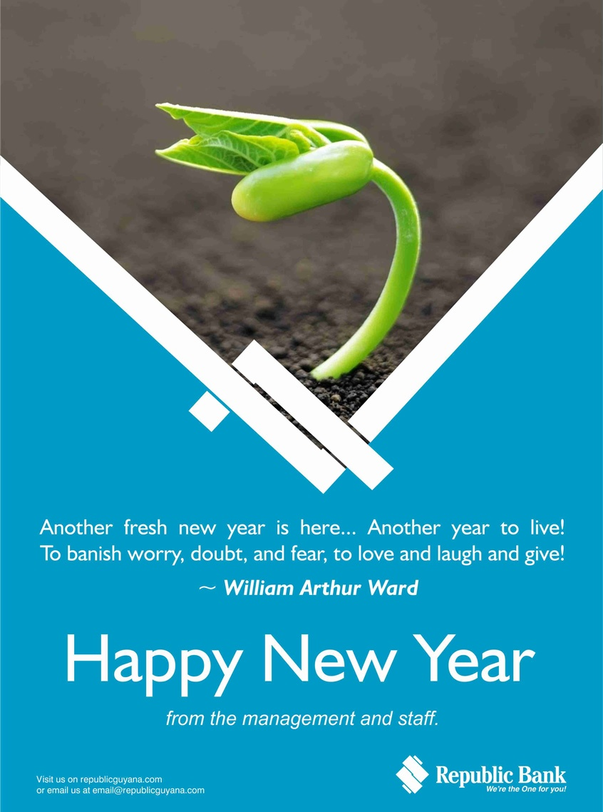New year greetings republic bank happy new year from the management and staff m4hsunfo